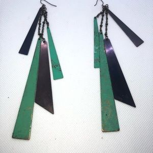 I dont know Jewelry - New-Boho Rustic Geometric Earrings